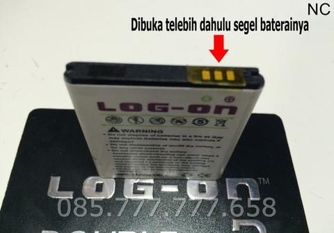 Baterai Log on Advan S5J Batre/Original/Double Power