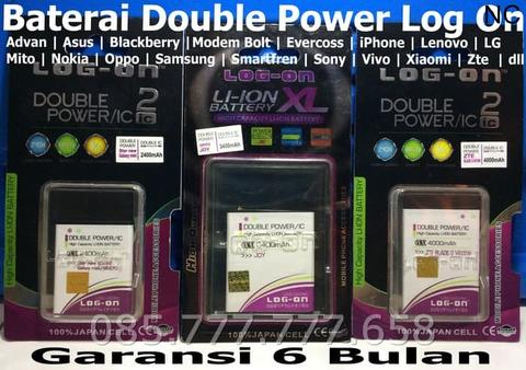 Baterai Log on Bolt Slim 1 E5372/E5372s/Batre/Original/Double Power