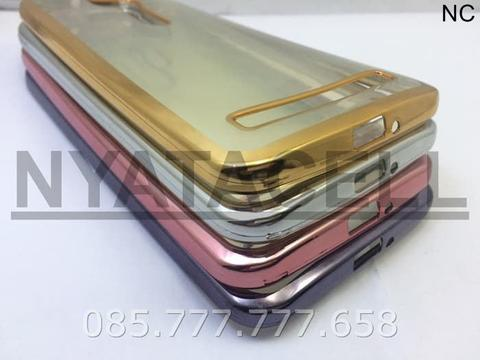 Case List Chrome Asus Zenfone GO 5.5 New ZB551 /TPU/Softcase/Ultrathin