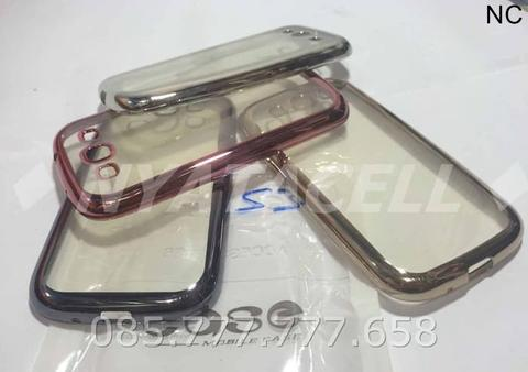 Case List Chrome Samsung Galaxy S3 I9300/TPU/Softcase/Silikon/Bumper