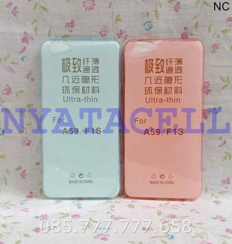 Case Ultrathin Oppo F1s / A59 F1 S /Ultra Thin/Softcase/Silikon/Jelly