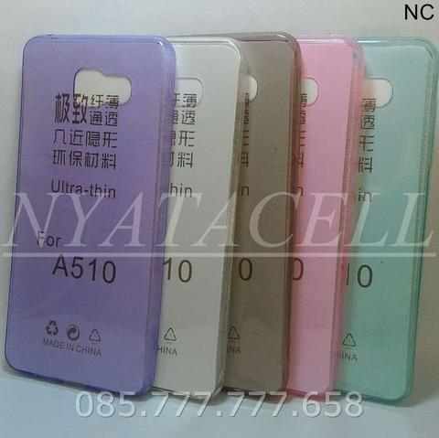 Case Ultrathin Samsung A5 2016 / A510 /Ultra Thin/Fit/Softcase/Silikon