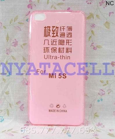 Case Ultrathin Xiaomi Mi5s Mi 5S Softcase Silikon Soft Casing Slim