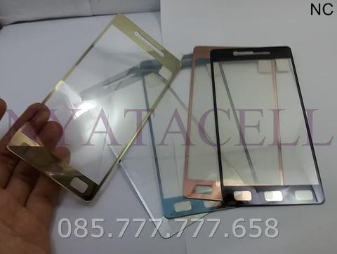 Tempered Glass Mirror Oppo Mirror 5 A51(Anti Gores Kaca) Warna Chrome