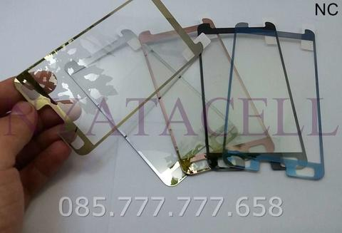 Tempered Glass Mirror Samsung Core 2 (Anti Gores Kaca)Warna 3D Chrome