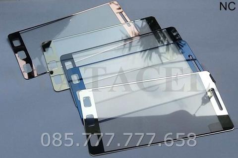 Tempered Glass Mirror Xiaomi Redmi 3 3S Pro Prime 3D Warna Chrome