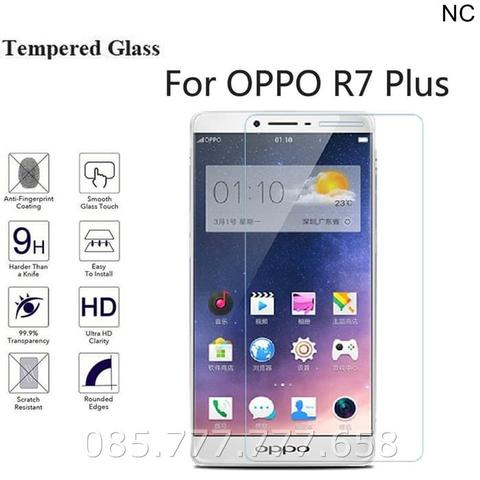 Tempered Glass Oppo R7+ R7 Plus (Screen Protector Anti gores Kaca)