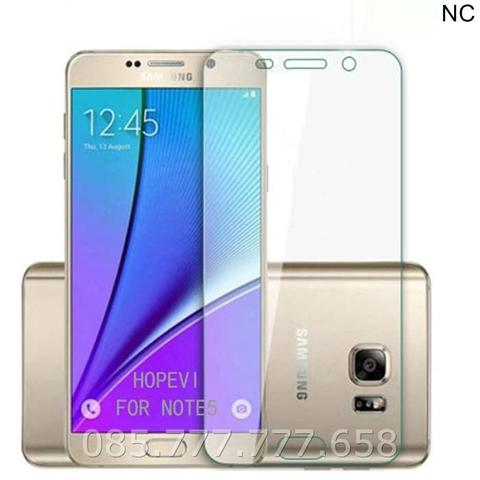 Tempered Glass Samsung Note 5 (Screen Protector Anti gores Kaca)