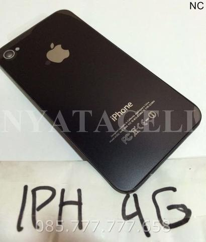 Back Door iPhone 4 4G A1332 /Backdoor Baterai Tutup Belakang Original - Putih
