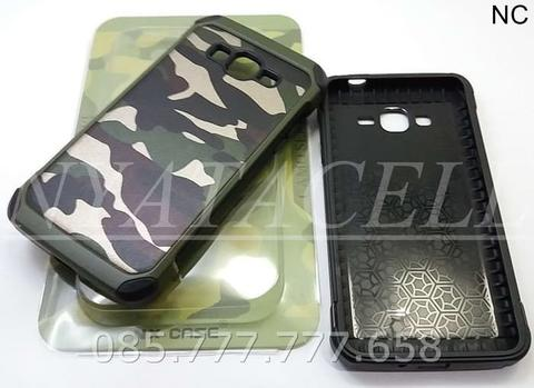 Case Army Samsung Grand Prime Plus Soft+Hard Leather Armor/Cover/Kulit
