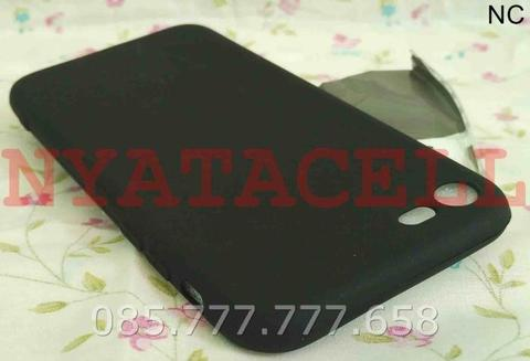 Case Matte Iphone 7 Soft Black Anti Minyak Softcase/SoftShell 7G 7S