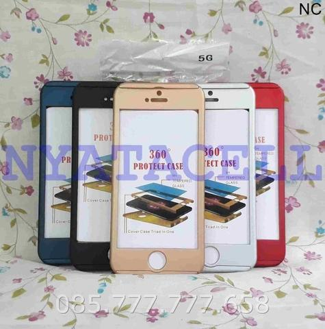 Case Protect 360 Iphone 5 5G 5S SE Slim Hard/Ipaky/Full Body/Casing