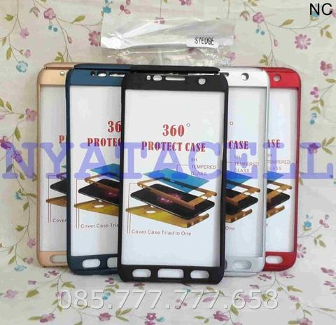Case Protect 360 Samsung S7 Edge Slim Hard/Ipaky/Full Body/Casing