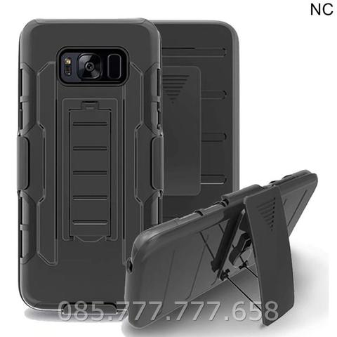 Case Stand Holster Belt Clip Samsung Galaxy S8 Armor Future Full Armor