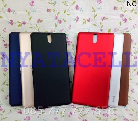 Hard Case Baby Skin Sony Xperia C5 Soft Touch Matte Dove Hardcase Gea - Merah Muda