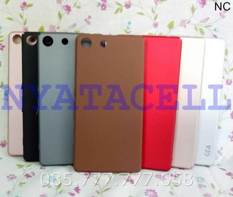 Hard Case Baby Skin Sony Xperia M5 Soft Touch Matte Dove Hardcase Gea
