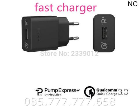 Quick Charger Sony 2A Original OEM UCH10/UCH12 Ori/USB Fast Xperia