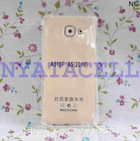Soft Case Anticrack Samsung A5 2016 A510 Soft Hard Clear Cover Jelly