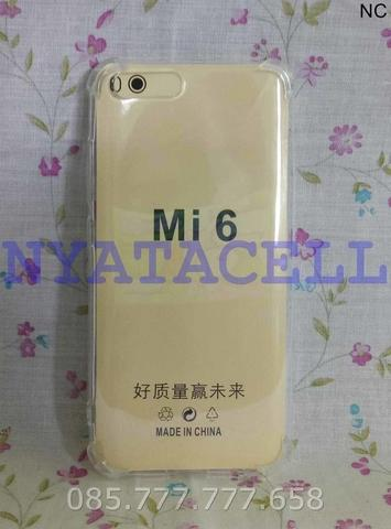 Soft Case Anticrack Xiaomi Mi6 MI 6 /Soft Hard Casing Cover Clear