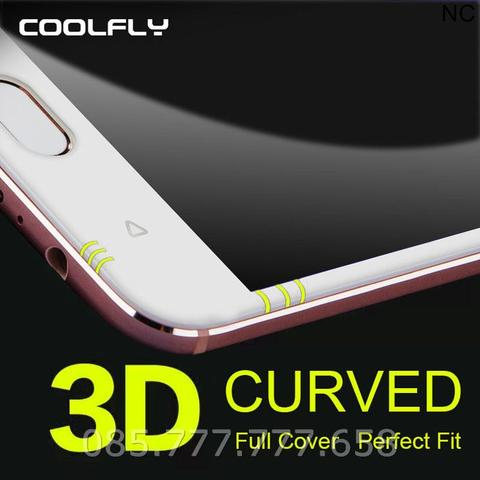 Tempered Glass Full 3D Meizu M3S/M3/Mini (Anti Gores Kaca)Curved Warna