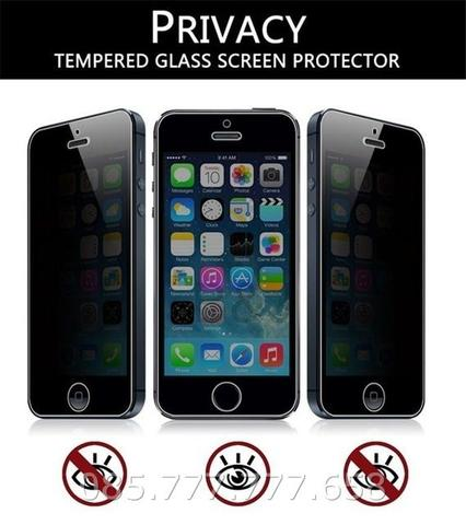 Tempered Glass Spy Iphone 5 5G 5S Anti Gores Kaca Privacy Gelap SE