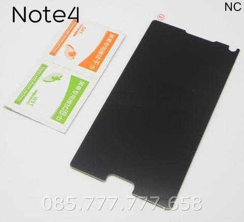 Tempered Glass Spy Samsung Galaxy Note 4 Anti Gores Kaca Privacy Gelap
