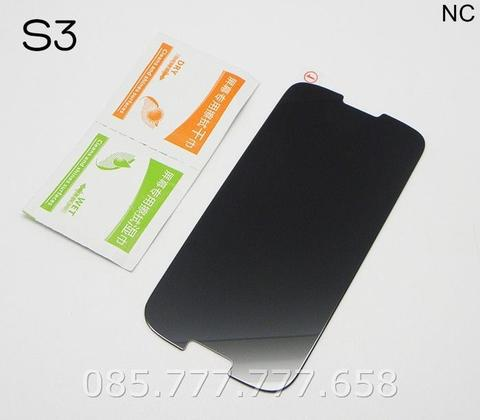 Tempered Glass Spy Samsung Galaxy S3 Anti Gores Kaca Privacy Gelap