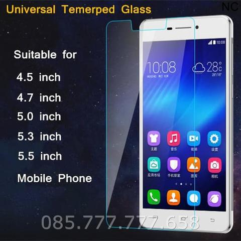 Tempered Glass Universal 4.5 Inch (Screen Protector Antigores)