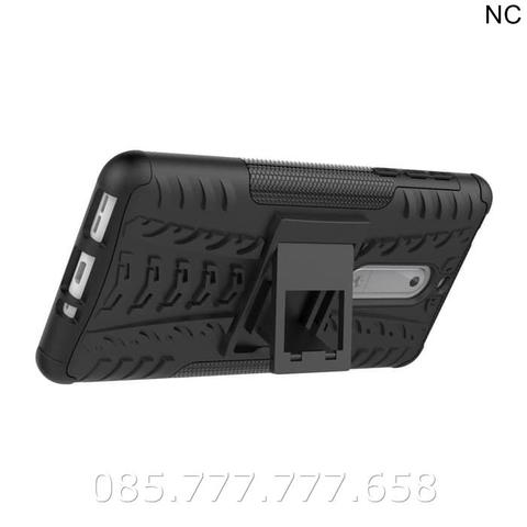 Case Rugged Nokia 5 /Soft+Hard Back Stand Dual Armor Cover