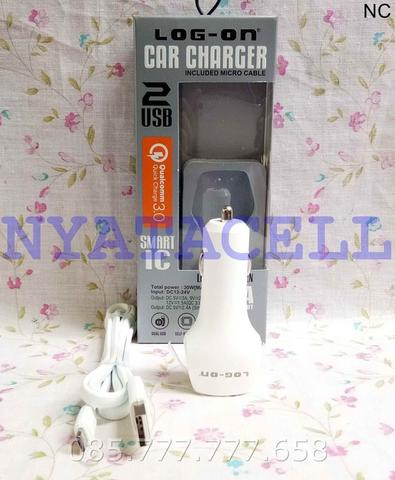 Charger Mobil Log On Twogen LO-SV11 Quick Charge 3.0 /Saver/Car/5.4A