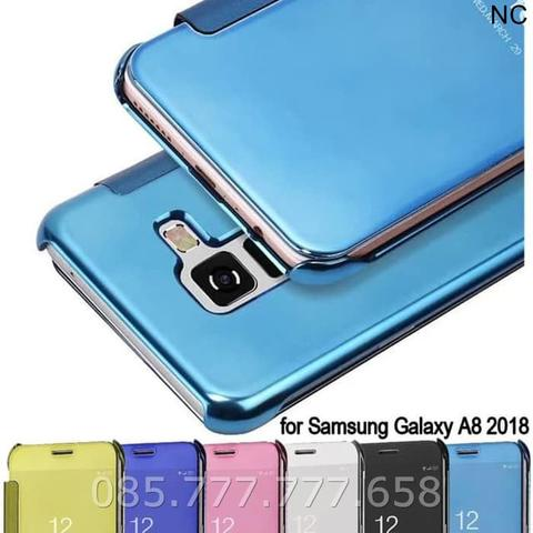 Flip Cover S-View Samsung Galaxy A5 2018 A530 Case Auto Lock Flipcover