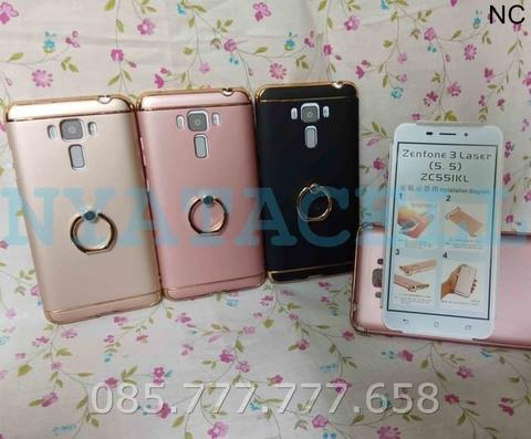OBRAL Case 3 in 1+I-Ring ALL TYPE Plating Matte Casing Ipaky Cover