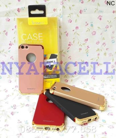Original Case 3 In 1 Chrome Iphone 5 5G 5S/Luxury New Generation Ipaky