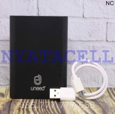 Powerbank Uneed Quickbox M10 10000mAh Power Bank UPB301 10000 mAh - Hitam