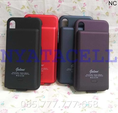 Powercase Galeno Iphone X /Cover/Power Bank/Original/Fast Charge