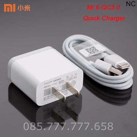 Quick Charger Xiaomi Type C Original 100% MDY-08-ES Charge 3.0 Fast