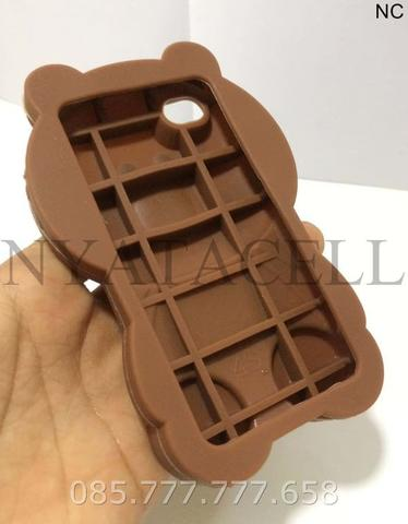 Case 4D Brown All Type /Karakter/Softcase/3d/Rubber/Boneka/Line/Grosir
