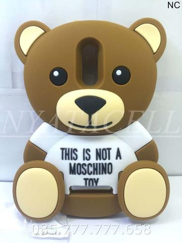 Case 4D Teddy Bear All Type /Karakter/3d/Rubber/Boneka/Moschino/Soft