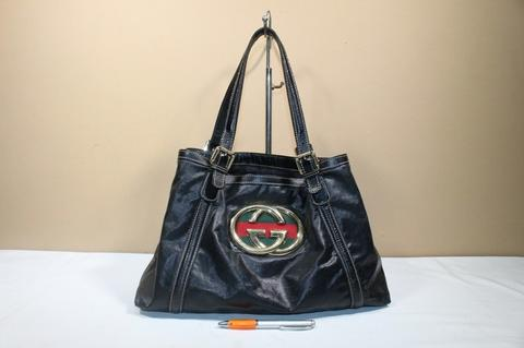 Terjual Tas wanita branded GUCCI GC570 PVC Coated canvas second ... f851e239bc