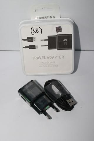 Charger Samsung Galaxy S8 S8 plus note 8 Fast Charger Type-C Adaptive Original