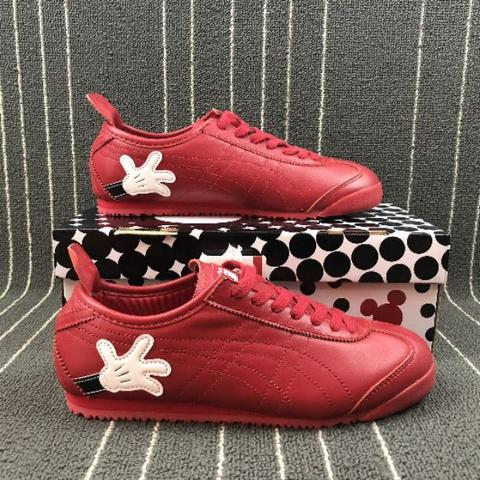 sale retailer 97769 999ee disney X onitsuka tiger mexico 66 mickey mouse red