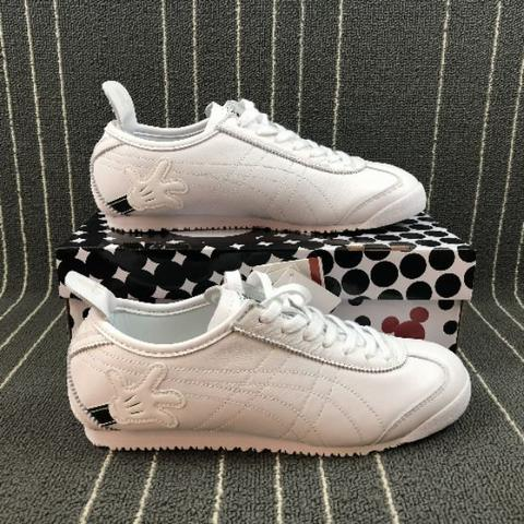 new concept a1717 2648c Disney X onitsuka tiger mexico 66 mickey mouse white
