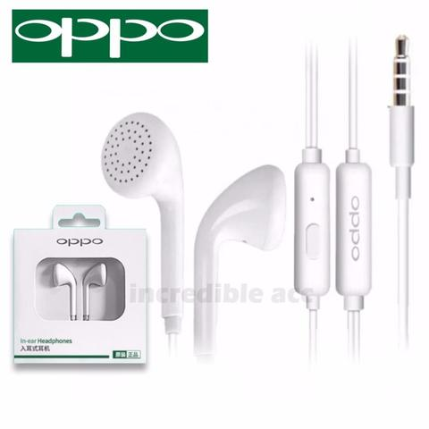 Earphone Headset OPPO R9 MH133 Original Handsfree F1 Plus ORI