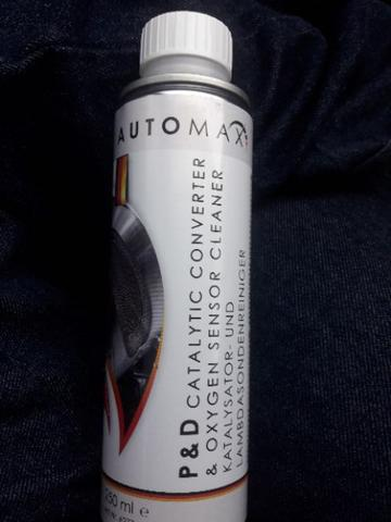 AUTOMAX CATALYTIC CONVERTER & OXYGEN SENSOR CLEANER MADE IN GERMANY