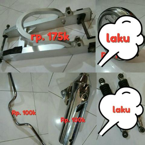 Part pretelan Honda Tiger 2005