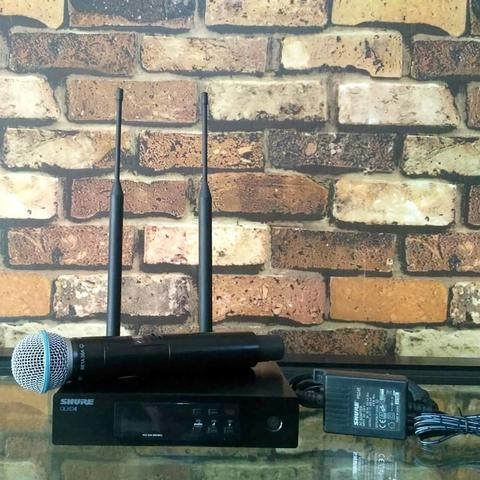 SHURE QLXD4 BETA 58A PROFESIONAL WIRELESS MICROPHONE SYSTEM MADE IN MEXICO