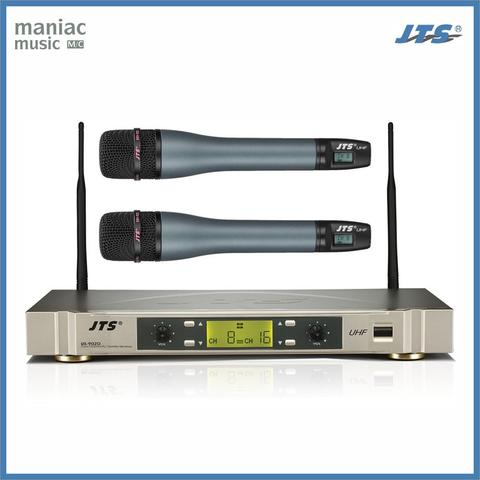 JTS US-902D / MH-920 (Paket Mic Wireless, Receiver, Dual, Microphone)