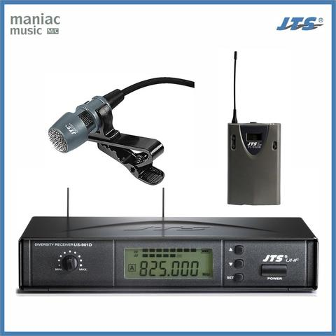 JTS US-901D / MH-920 + CM501 (Paket Mic Wireless, Clip On, Lavalier)