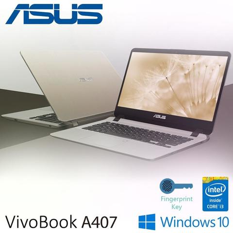 Asus VivoBook A407UA Core i3 6006U - Windows 10 Home - 4GB DDR4 - 14.0""
