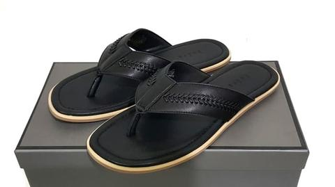 Black Sandal PM-334 PEDRO SHOES